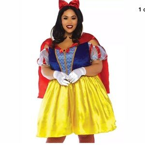 NEW~ Plus Size Leg Avenue Snow White Costume